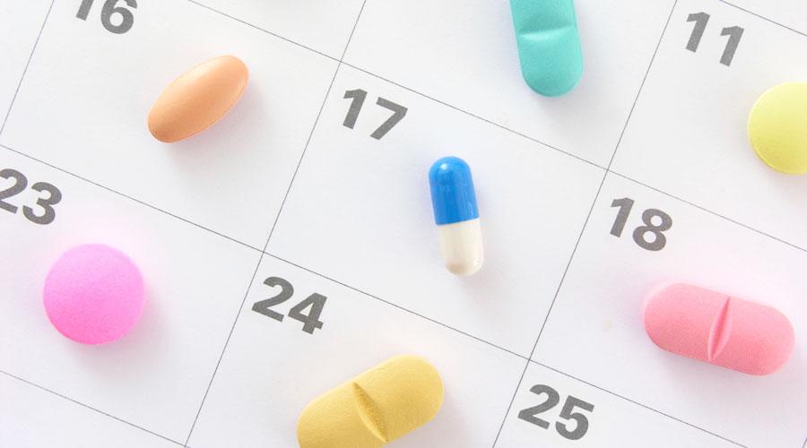 medication calender