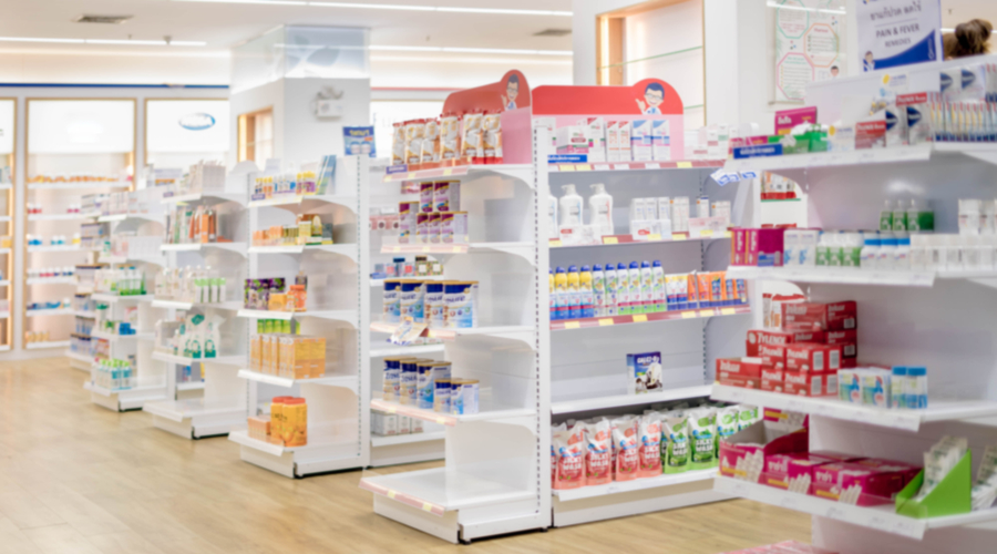 pharmacy store layout features independent retail